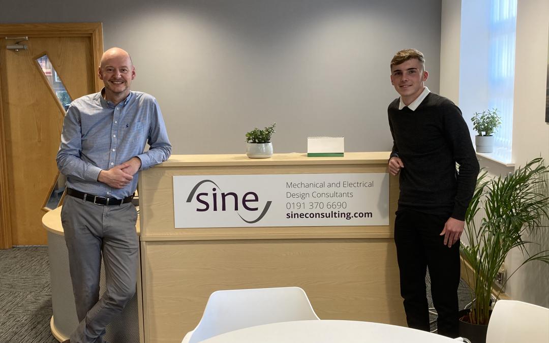 Sine Welcomes New Apprentice!